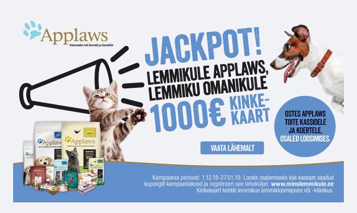 Võida 1000 EUR eest kaupa!