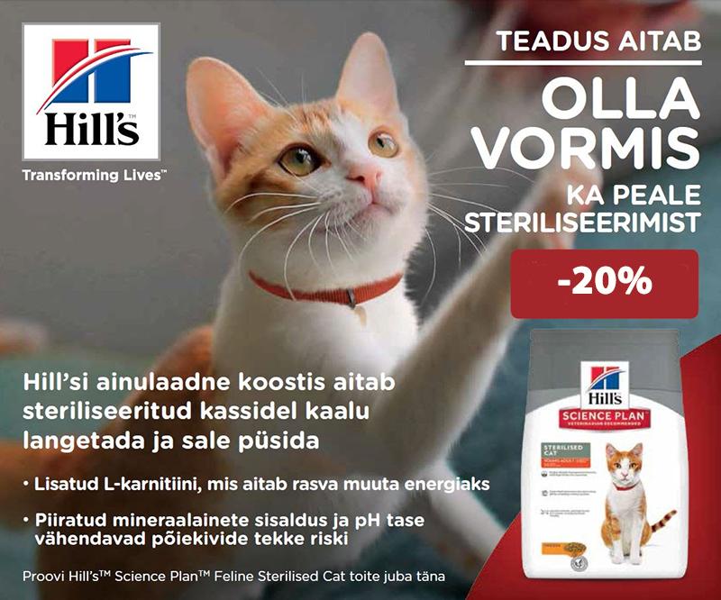 Hill's kassidele -20%