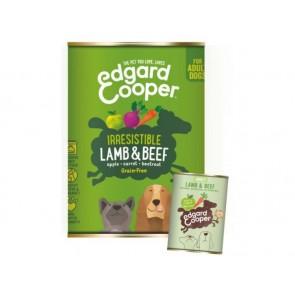 Edgard Cooper Konserv Adult Koer Lammas/Veis 400G