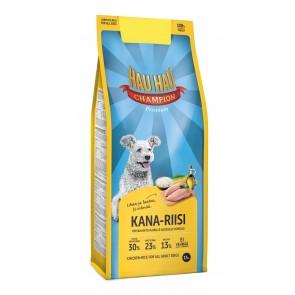 Hau Hau täistoit kana-riisi kõikidele täiskasvanud koertele 15 kg