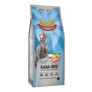 Hau Hau täistoit kana-riisi suurtele koertele 15 kg