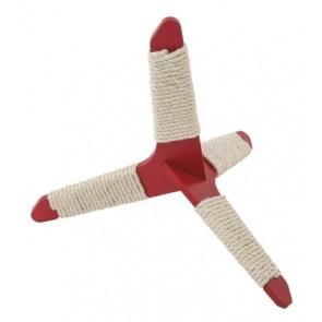 Ferplast Tripod S kraapimismänguasi kassidele punane