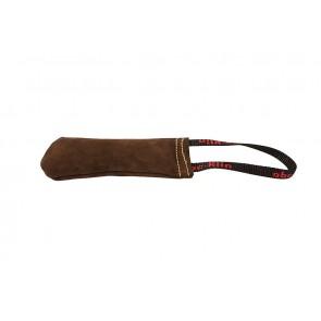 SPORTKLIN pruuni värvi nahast patukas 15x6cm