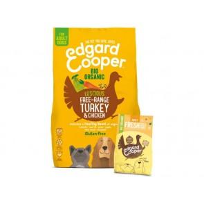 Edgard Cooper Kuivtoit Adult Koer  kalkuni- ja kanalihaga 7Kg