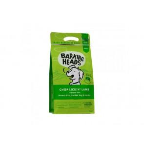 BARKING HEADS kuivtoit koertele Chop Lickin Lamb 2kg