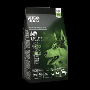 PrimaDog täistoit lamba-kartuli, kõikidele täiskasvanud koertele 2 kg