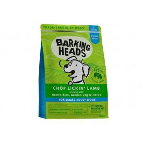 BARKING HEADS kuivtoit koertele Chop Lickin Lamb väike tõug 4 kg