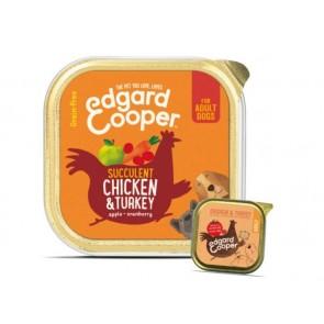Edgard Cooper Konserv Adult Koer Kana/Kalkun 150G