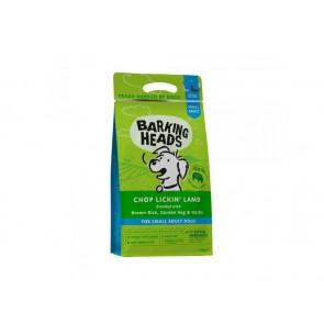 BARKING HEADS kuivtoit koertele Chop Lickin Lamb väike tõug 1.5 kg