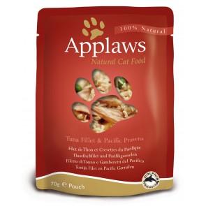Applaws Cat Eine Kotike Tuunikala Filee ja Krevettidega 70g