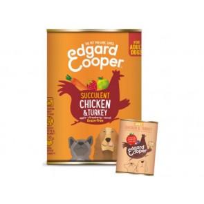Edgard Cooper Konserv Adult Koer Kana/Kalkun 400G