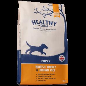Healthy Paws British Turkey & Brown Rice Puppy 12 kg