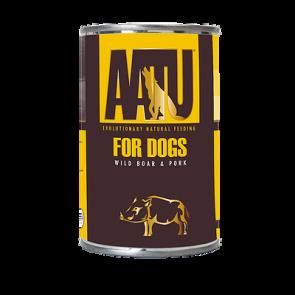 Aatu konserv koertele metssiga ja siga 400g
