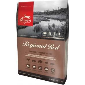 ORIJEN Dog Regional Red teraviljavaba koeratoit 11,4 kg