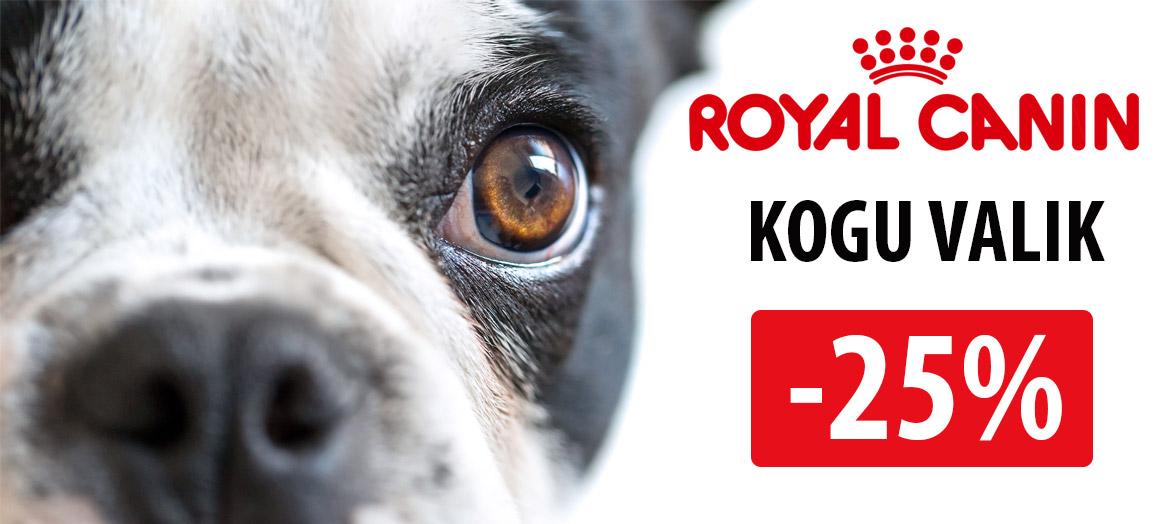 royal canin koeratoidud soodustus